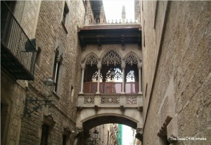 Pont del Bisbe Barcelona