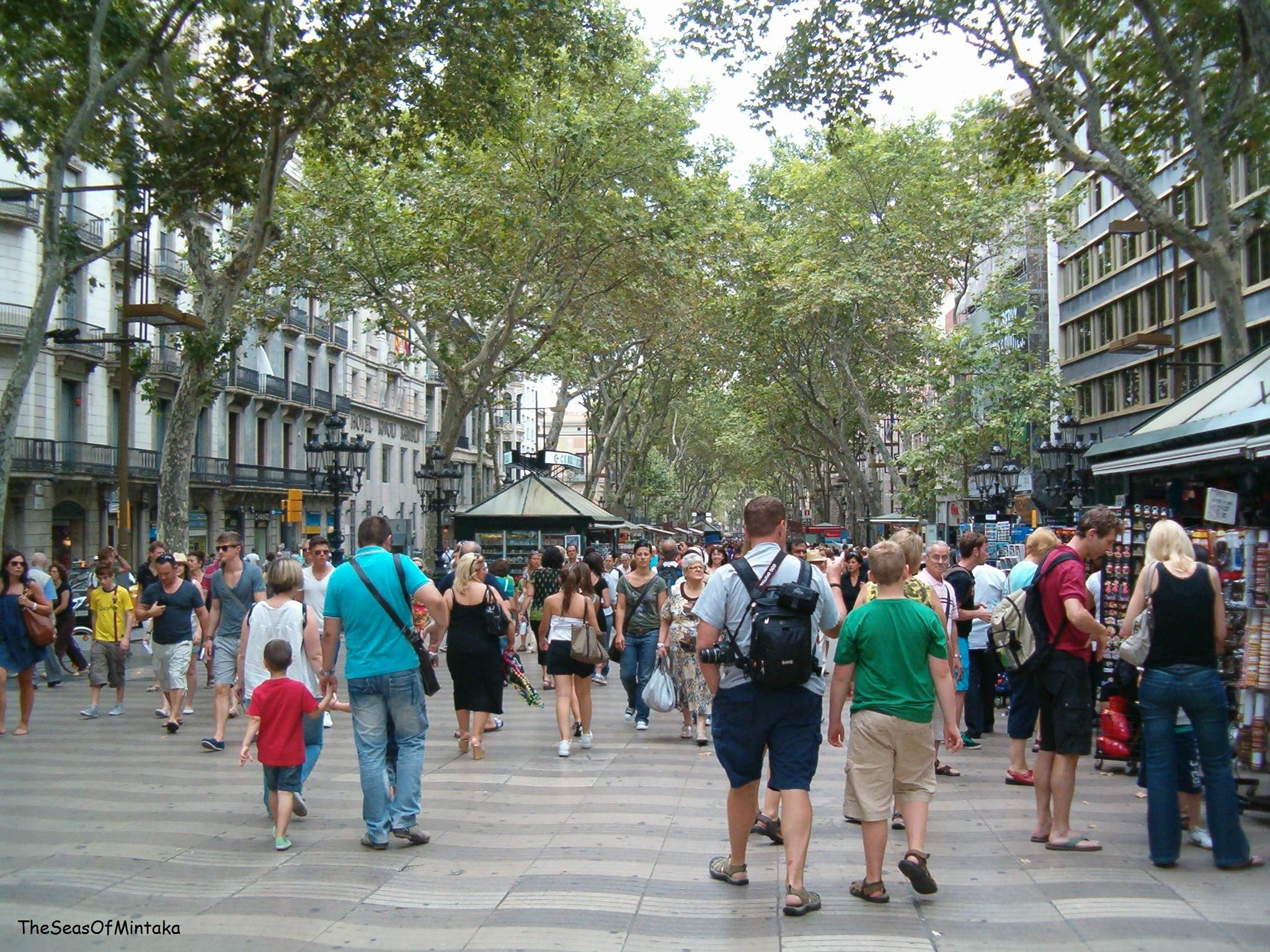 The Barcelona That Some Tourists DO See