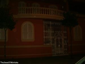 La Linea Ornate Door by Night