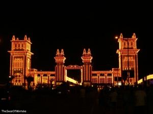 Malaga Fair Entrance Castle