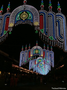 Malaga Fair Lights
