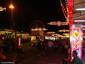Walking Around Malaga Fair