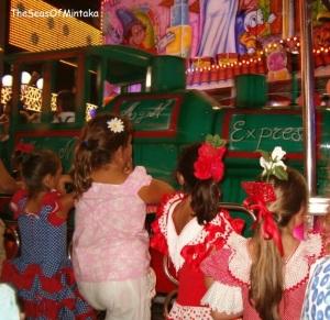 Malaga Fair Kiddy Ride