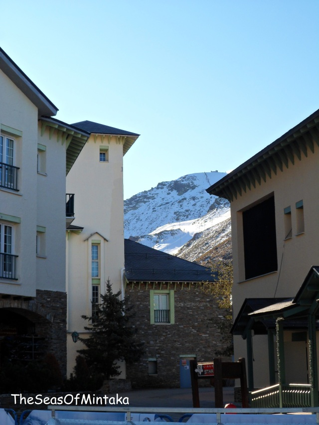 Corner of Pradollano Sierra Nevada Granada
