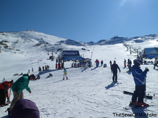 Ski Slopes at Sierra Nevada