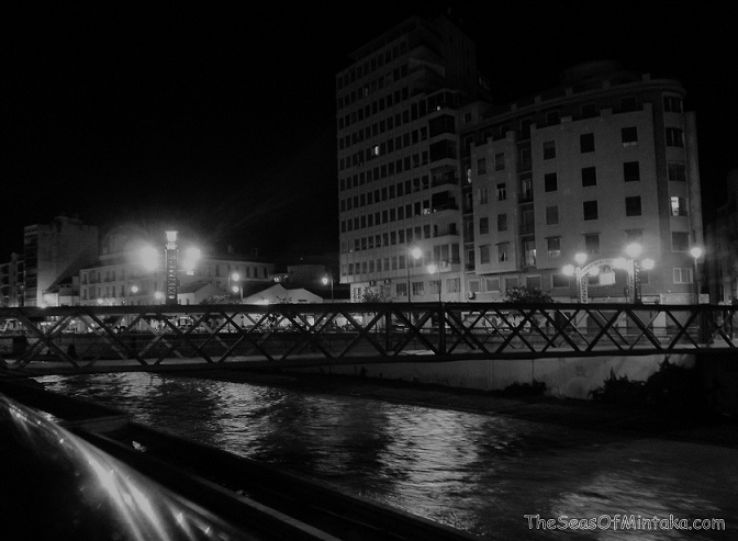 Lights on the River in Malaga
