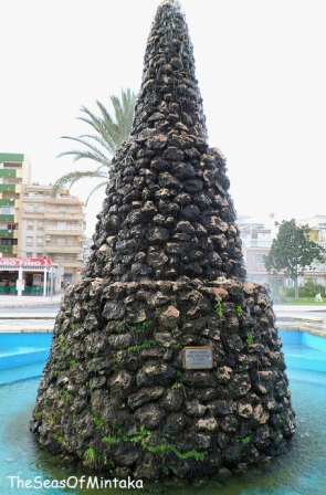 Monument in Torre del Mar