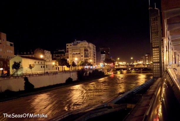 Night Lights in Malaga