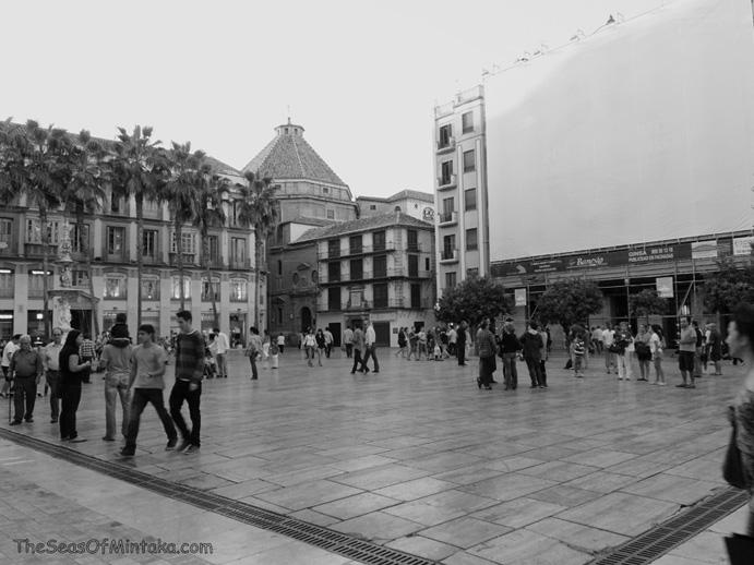 Plaza Constitucion Malaga