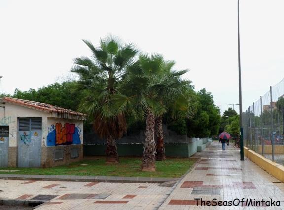 Rain in Malaga