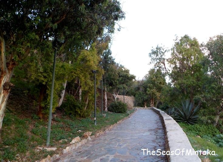 Path Gibralfaro Mountain Malaga