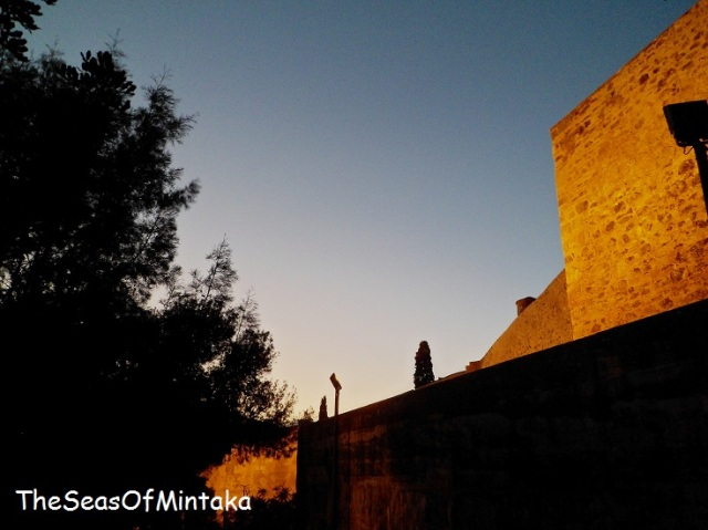 Setting Sun Alcazaba Malaga