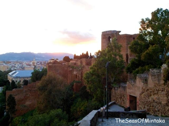 Steps Alcazaba Malaga