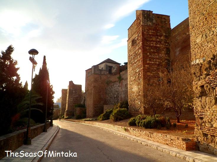 Sunset Alcazaba Malaga