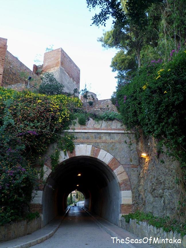 Tunnel Gibralfaro Malaga