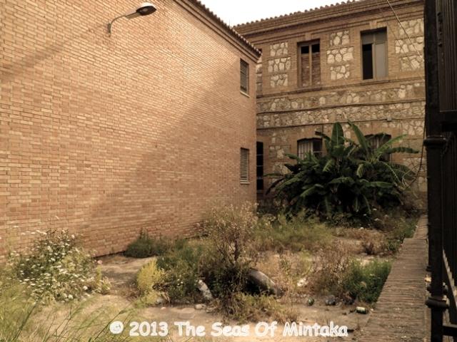 Abandoned Courtyard