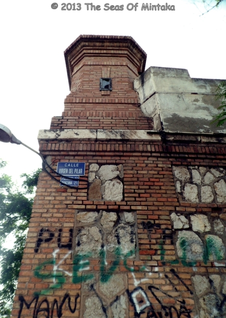 Guard Tower and Grafitti