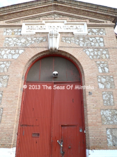 Provincial Prison Door