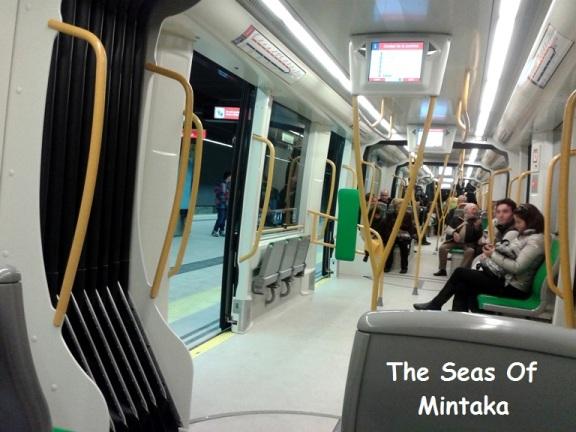 Dentro del metro