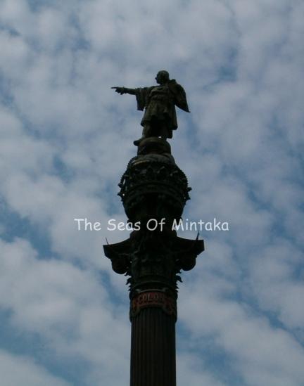 Colon Barcelona Columbus Statue