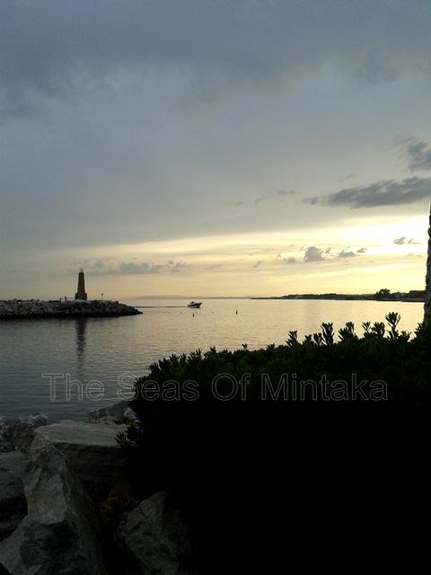 Sunset in Puerto Banus