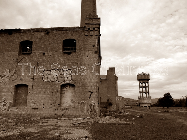 Back of Sugar Factory Tarajal Malaga