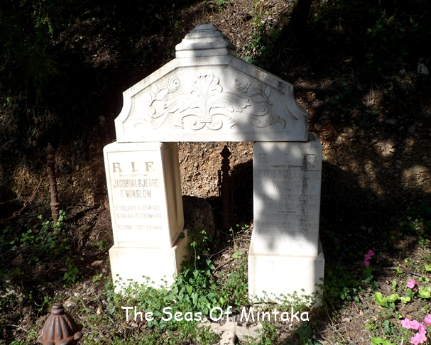 Arched Tombstone English Cemetery Malaga