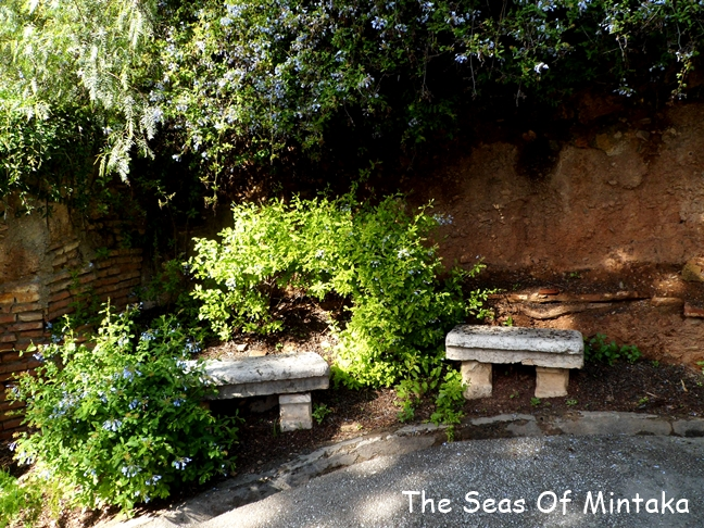 Benches English Cemetery Malaga