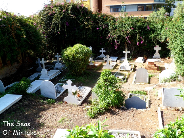English Cemetery Malaga Panoramic View