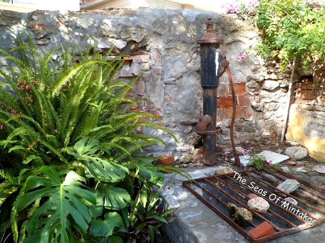 Water Pump English Cemetery Malaga