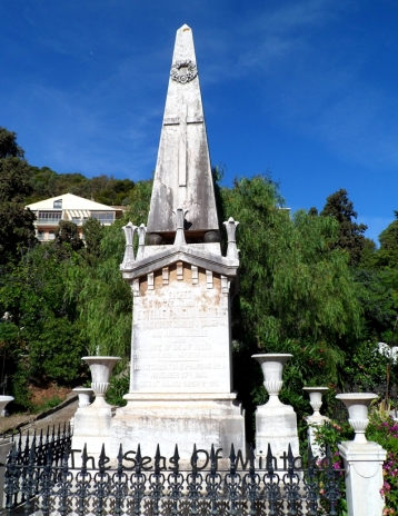 Monument English Cemetery Malaga