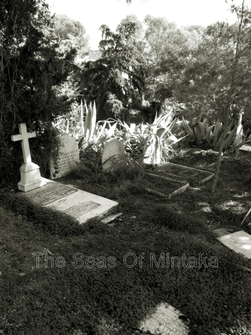 Tombstones English Cemetery Malaga