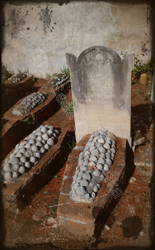 Chidren's Graves English Cemetery Malaga