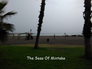 Beach in the Rain Malaga