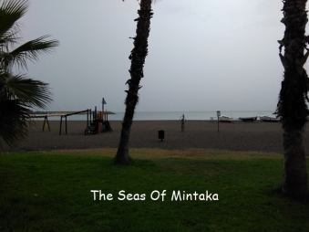 Beach in the Rain Malaga