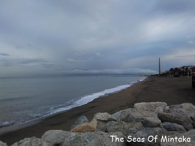 Rainy Beach Malaga