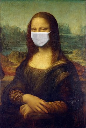 Mona Lisa and mask